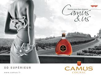 publicité Cognac Camus