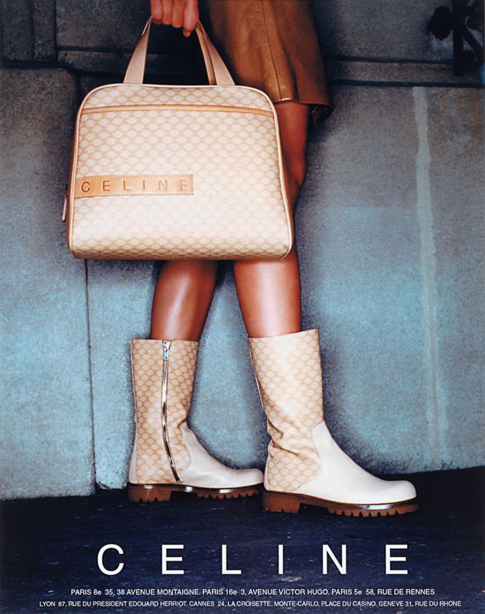 advertising Céline