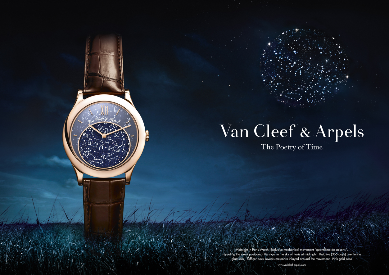 advertising Van Cleef
