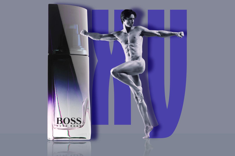 publicité Hugo Boss