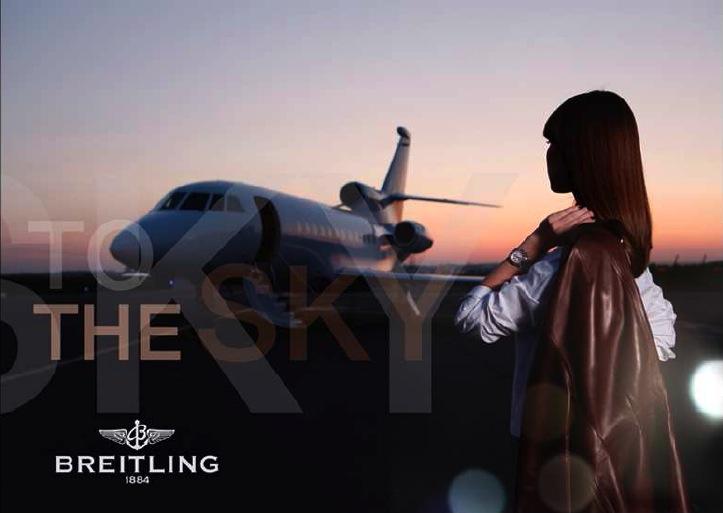 advertising Breitling