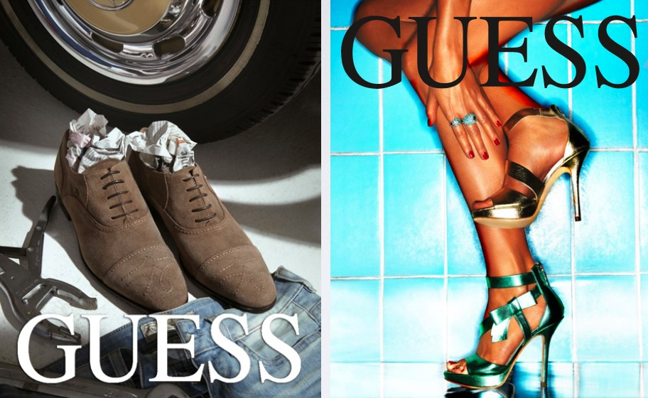 advertising GUESS